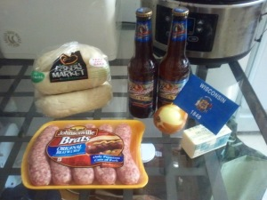 Beer Brats (1) ingredients