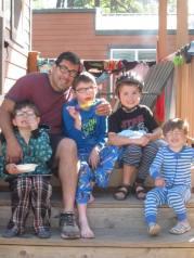 Scobie and kids