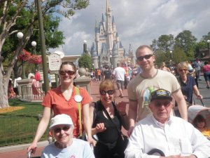 walter and fam disney