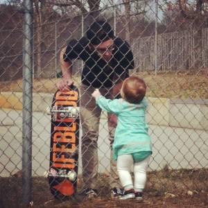 Jordan Poe Skateboard Fence