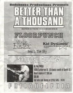BT1000 Floorpunch Flier