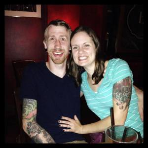 Josh Torpen and Wife Tatts