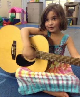 Sarah daughter guitar