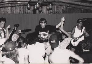 Downey 1990 on mic