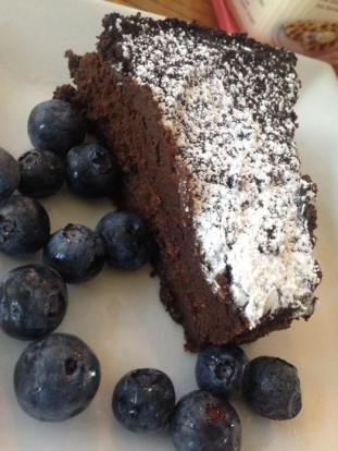 mom vegan gf choc flourless cake
